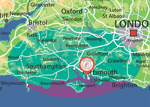 Covering Hampshire, Surrey, West Sussex, Dorset, Wiltshire and Berkshire